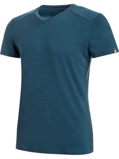 Mammut Alvra - T-shirt manches courtes Homme - bleu